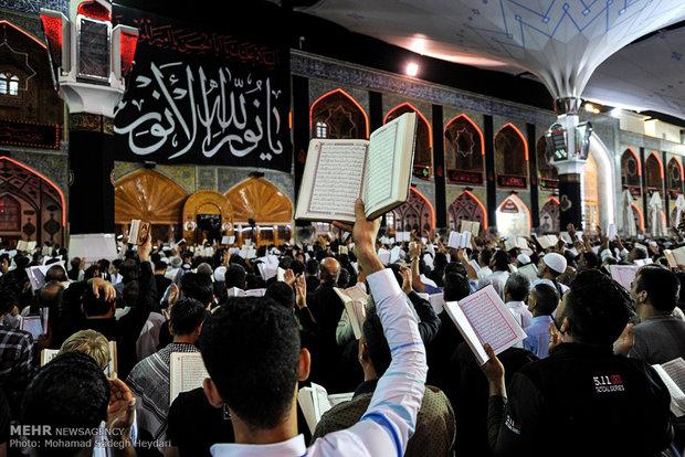 احياء ليلة 21 من رمضان المبارك في النجف الاشرف
