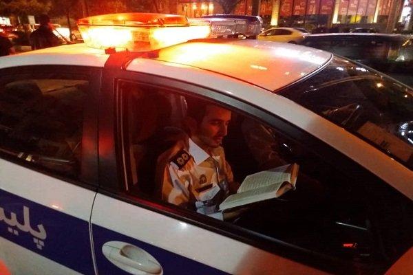 حضور موثر پلیس در مراسم سالگرد ارتحال امام و شب های قدر