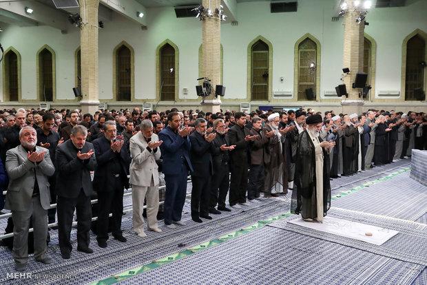 مراسم سوگواری سالروز شهادت امیرالمؤمنین در حسینیه امام خمینی (ره)