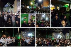 تشییع نمادین حضرت علی(ع) در ورامین برگزار شد