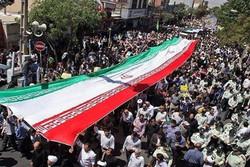 تأکید مردم زنجان بر حمایت خود از مردم فلسطین/ همه حاضر شدند
