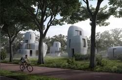 ساخت خانه با پرینتر سه بعدی  در هلند