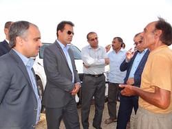 بازدید فرماندار از روستاهای کاکی
