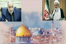دعوت امام جمعه و استاندار کرمانشاه برای حضور در راهپیمایی روز قدس