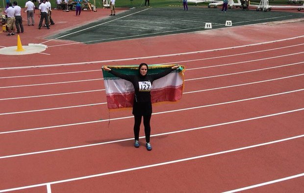 Arani wins first medal for Iran at 18th Asian Junior Athletics C'ships