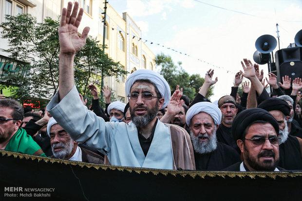 مراسم عزاء شهادة الإمام علي (ع)  في قم