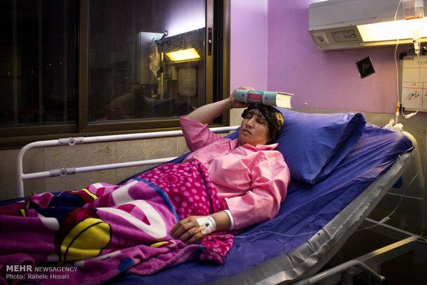 مراسم احیای شب قدر در بیمارستان های گرگان
