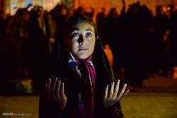 برگزاری آئین احیا در استان سمنان/ مهمانی ستارگان در شب قدر