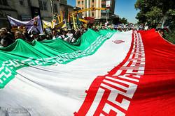 راهپیمایی روز قدس در استان ها - ۱