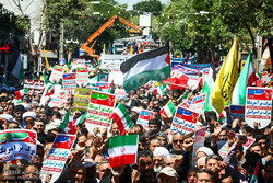 حضور گسترده مردم در راهپیمایی روز قدس/ استان بوشهر رنگ حماسه گرفت