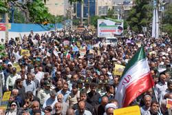 حضور پرشور ملت ایران در راهپیمایی روز قدس خلق حماسه دیگری بود