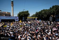 فریاد «مرگ براسرائیل» در آذربایجان شرقی پیچید/ رونمایی از«جام جنایی غزه» در تبریز