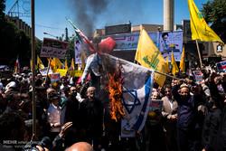 راهپیمایی بزرگ روز جهانی قدس در تبریز آغاز شد