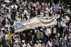 خروش مردم ارومیه در حمایت از مردم مظلوم فلسطین