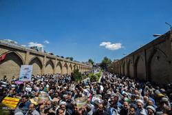 ائمه جمعه قزوین از حضور مردم در راهپیمایی روز قدس قدردانی کردند