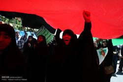 راهپیمایی روز قدس در تهران-۴