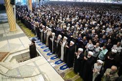 تہران میں عالمی یوم قدس کے موقع پر نماز جمعہ