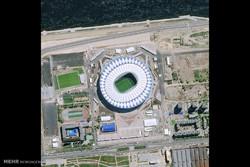 ورزشگاه های جام جهانی 2018 از نمای بالا