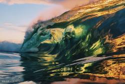 تصاویری زیبا از امواج دریا