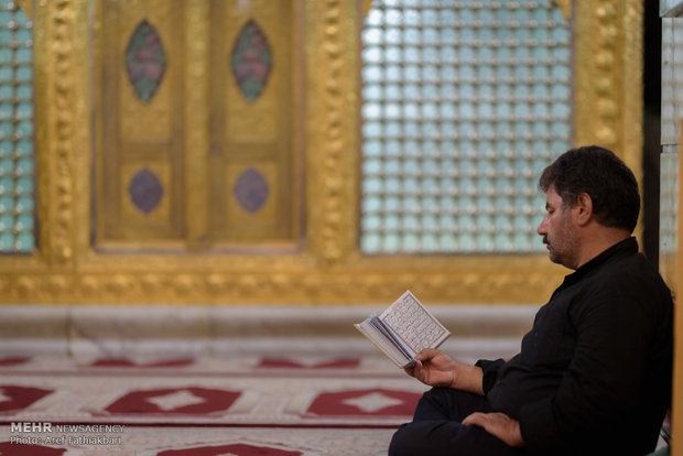 مراسم احیا شب بیست و سوم ماه رمضان در  کرج