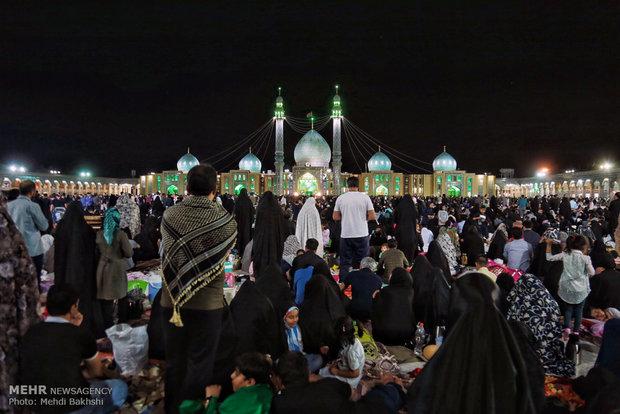 مراسم احیای شب بیست و سوم ماه رمضان در مسجد مقدس جمکران