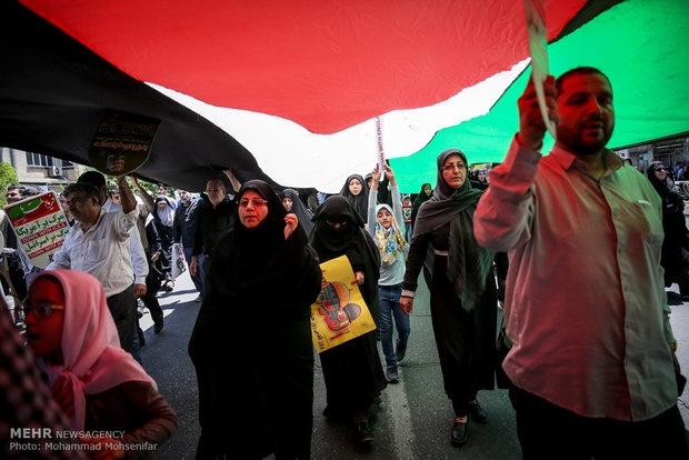 Intl. Quds Day rallies in Tehran