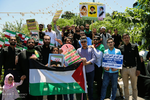 Intl. Quds Day rallies in provinces across Iran