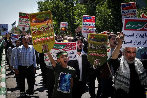 مسيرات يوم القدس في طهران