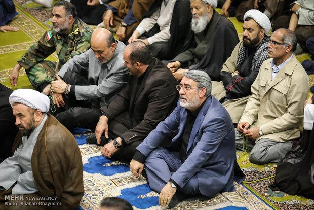 نمازجمعه تهران در روز جهانی قدس