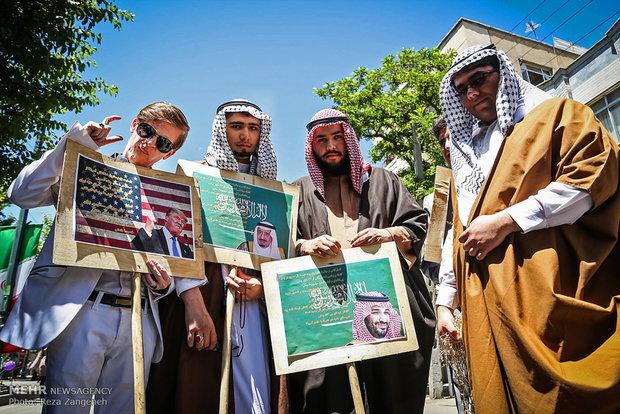 مسيرات يوم القدس العالمي في مدينة همدان