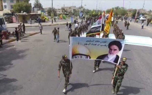 العراق يشهد مسيرات شعبية حاشدة بيوم القدس العالمي