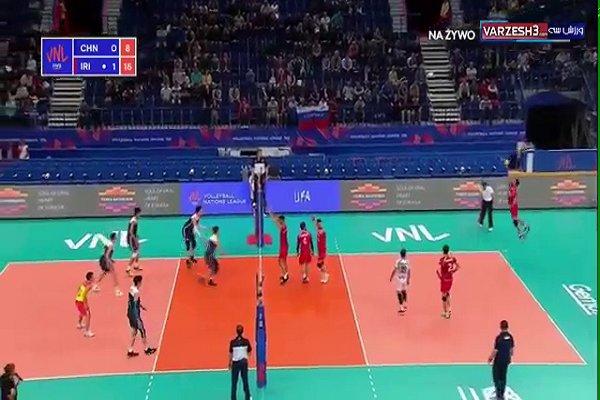 iran china volleyball