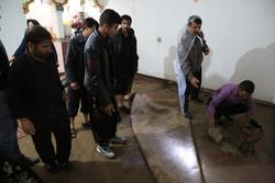 سیل میهمان ناخوانده مردم اهر/خسارت شدید به ۶۰ خانه روستایی و شهری