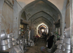 Restoration begins on historical bazaar of Shahreza