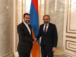 Iran's ambassador meets Armenian PM