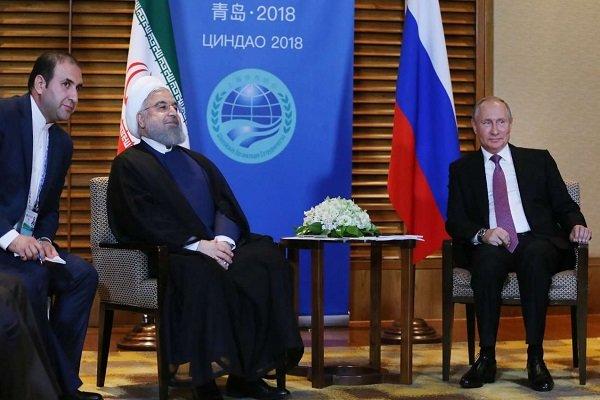 Ruhani ile Putin'den Çin'de önemli görüşme