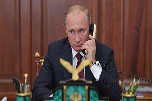 تماس تلفنی پوتین با همتای اوکراینی