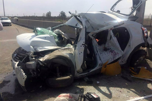 ۳ کشته و مجروح در حادثه رانندگی جاده سعادت شهر