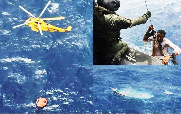 Pakistan Navy rescues 11 Iranian fishermen