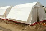 وضعیت شهر مهران بعد طوفان/ امدادرسانی هلال احمر برای اسکان زائران