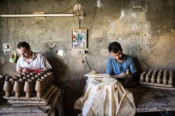 روز صنایع دستی - سفالگری در لالجین همدان