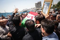 """تشييع جثمان حجة الاسلام والمسلمين الدكتور """"احمد احمدي"""" / صور"""