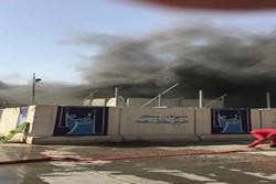 الداخلية العراقية: اندلاع حريق بمخازن مفوضية الانتخابات في بغداد
