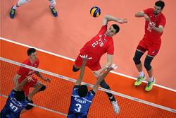 تیم ملی والیبال ایران و روسیه