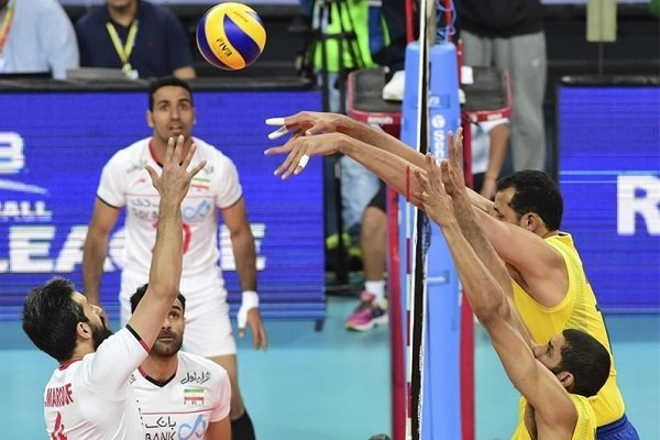 Iran narrowly defeated by Brazil at VNL