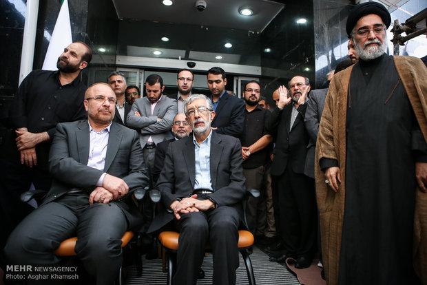 تشييع پيکر حجتالاسلام احمد احمدي