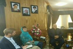 استاندار کرمانشاه با سفرای نروژ و سوئد در ایران دیدار کرد