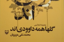 کتاب مجموعه اشعار «گلها همه داوودیاند» منتشر شد