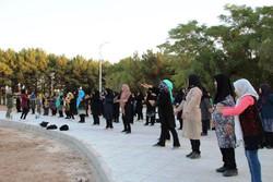 انجام ورزش صبحگاهی در ۵۸ پارک زنجان