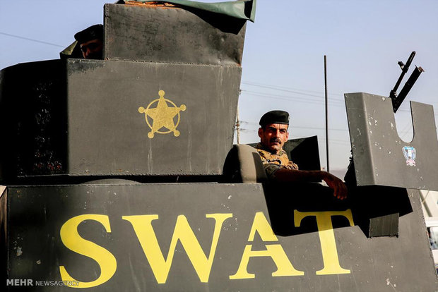 آتش سوزی در انبار صندوق های انتخاباتی عراق